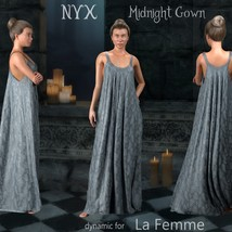 NyX Midnight Gown - dynamic for La Femme image 5