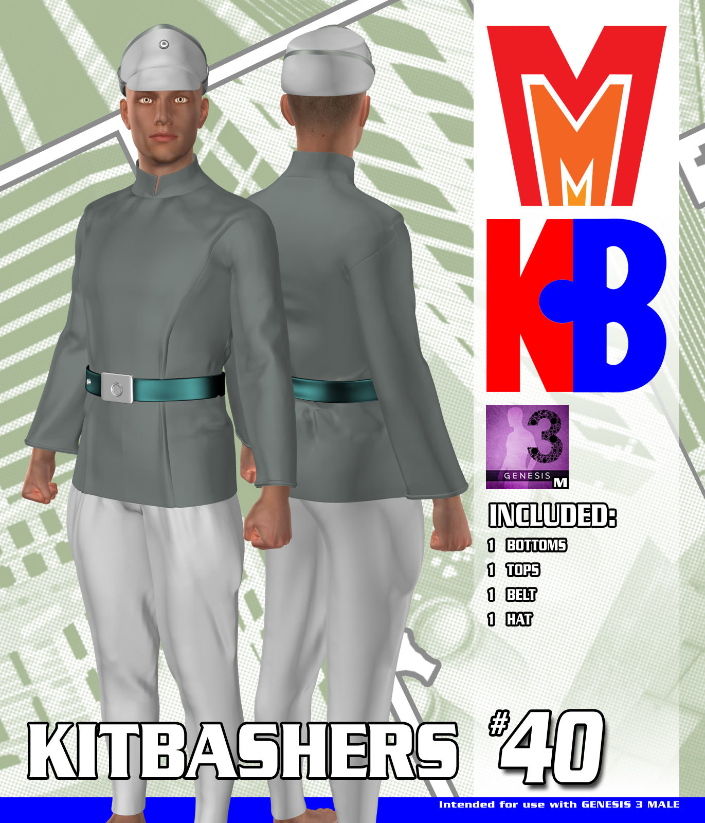 Kitbashers 040 MMG3M by MightyMite