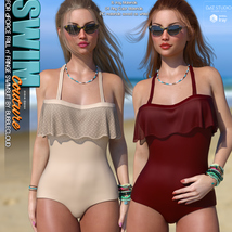 SWIM Couture for dForce Frill n' Fringe Swimsuit image 10