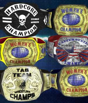 Championship Belt for V4 (Poser 7+) - Extended License 3D Figure Assets 3D Models Extended Licenses DexPac