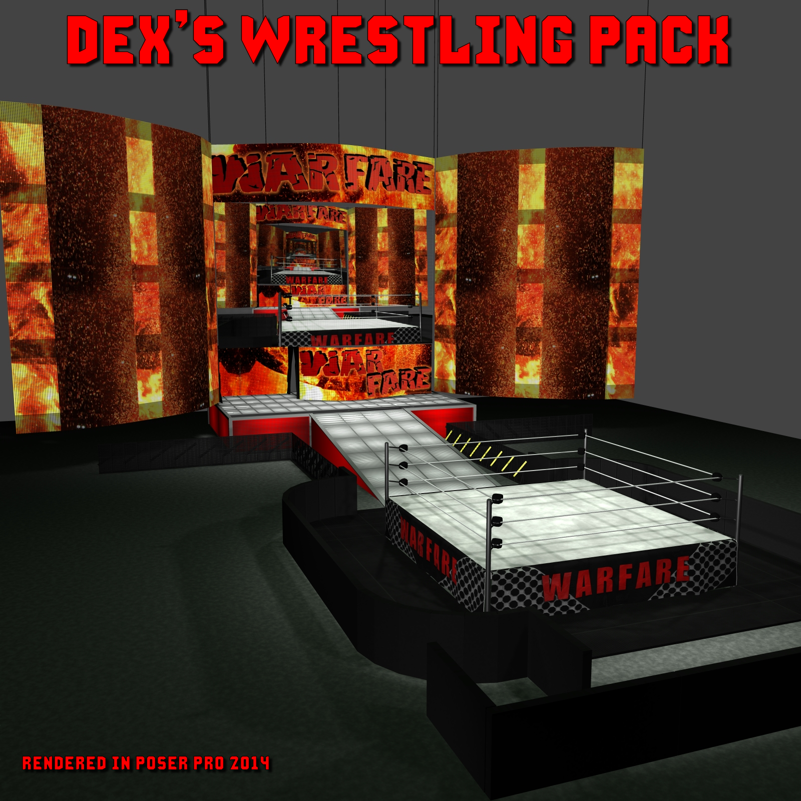 Dex's Wrestling Set - Extended License by DexPac