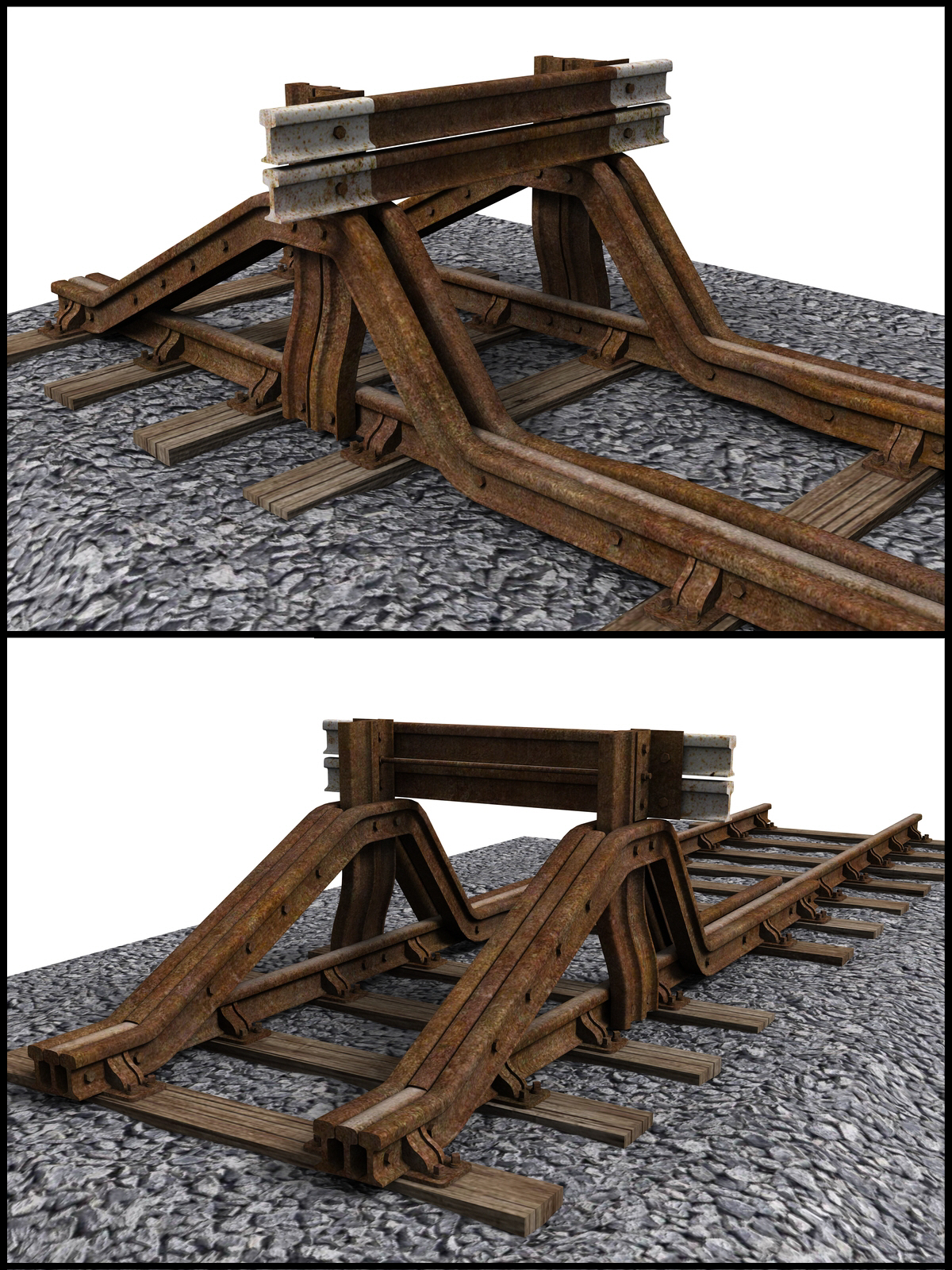 GWR Buffer Stops - Extended License by DryJack