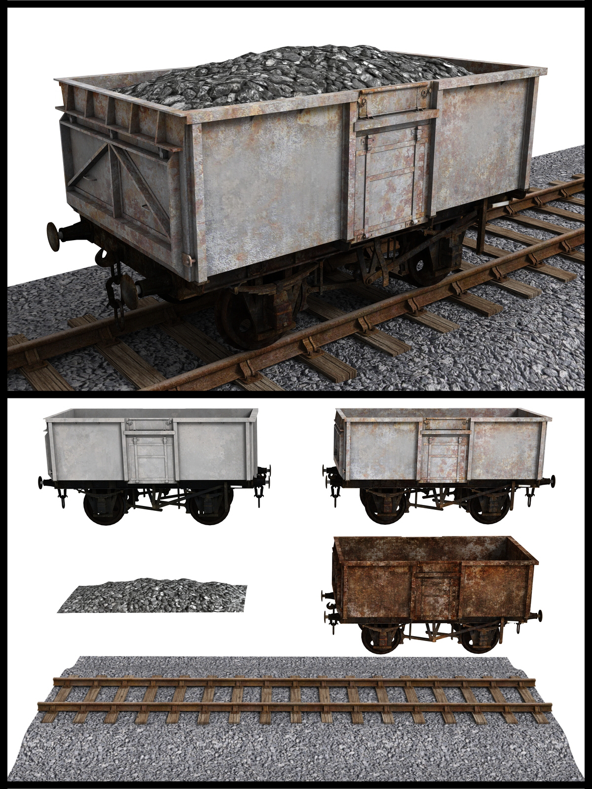 16 Ton Mineral Wagon - Extended License