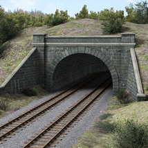 Railway tunnel mouth - Extended License image 1