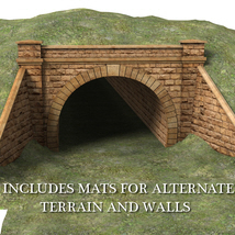 Railway tunnel mouth - Extended License image 3