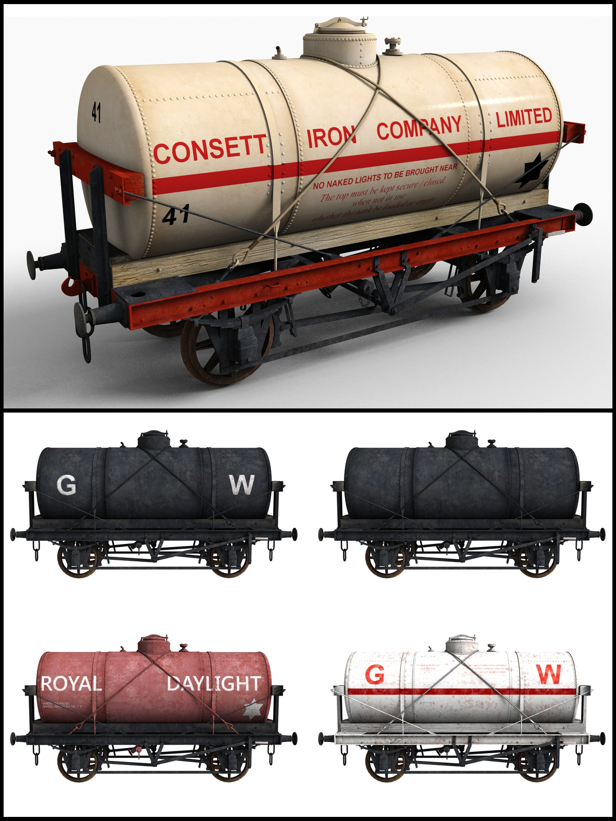 14 Ton Tank Wagon - Extended License