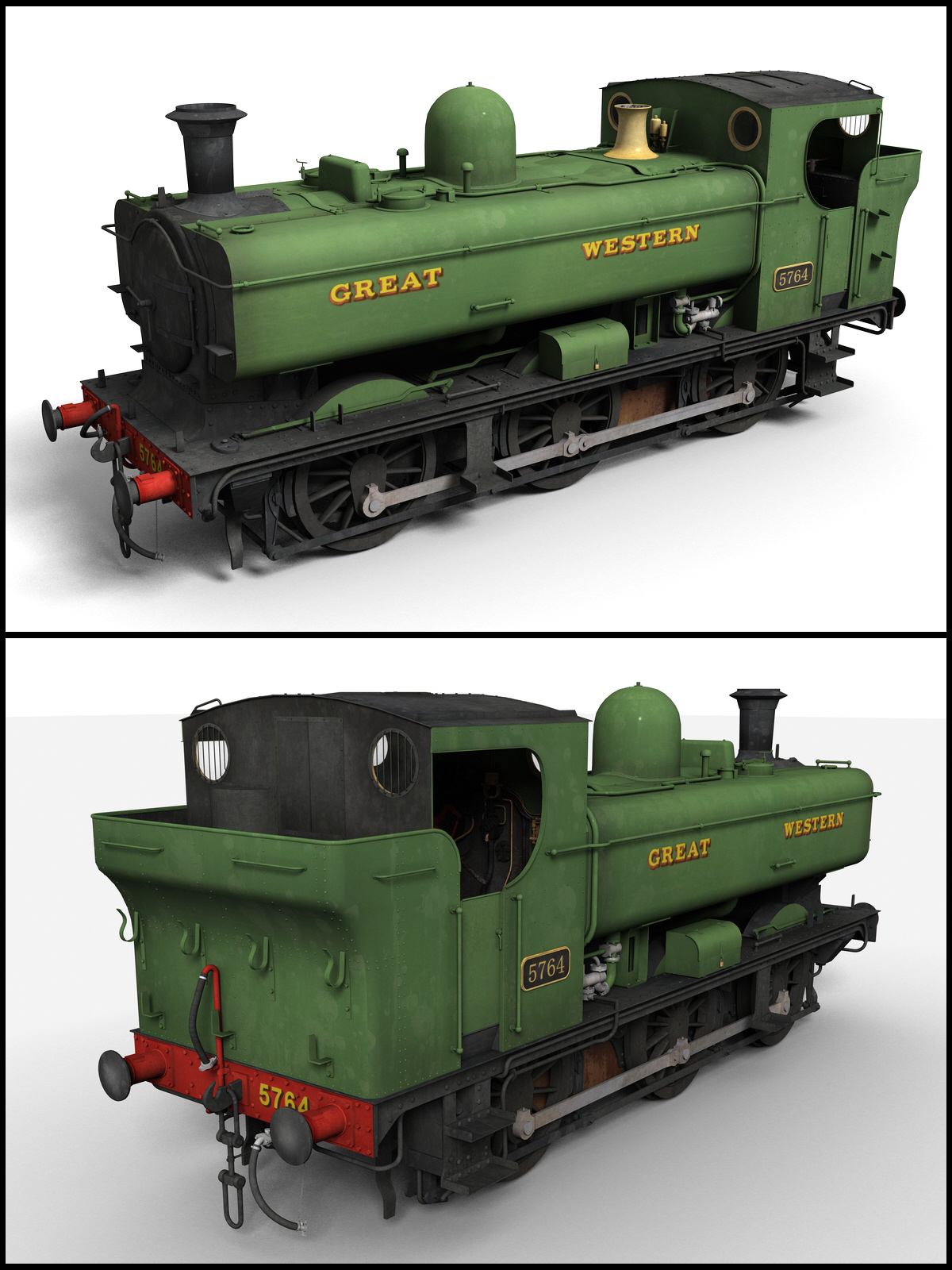 GWR Pannier Tank Engine - Extended License by DryJack