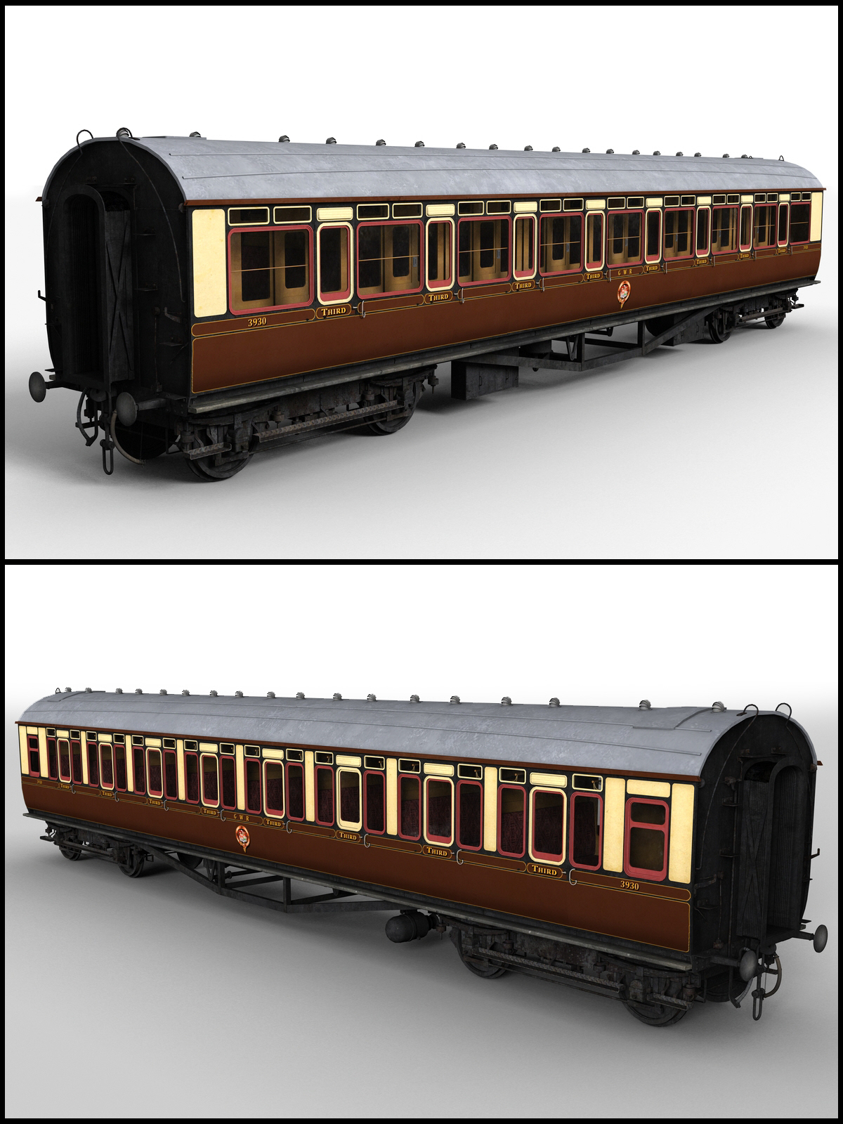 GWR Toplight passenger coach - Extended License by DryJack