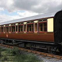 GWR Toplight passenger coach - Extended License image 2