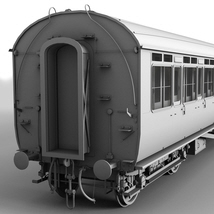 GWR Toplight passenger coach - Extended License image 3