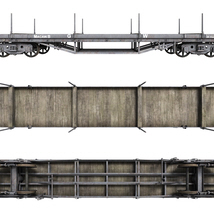 GWR -Macaw B- Bogie Wagon - Extended License image 1