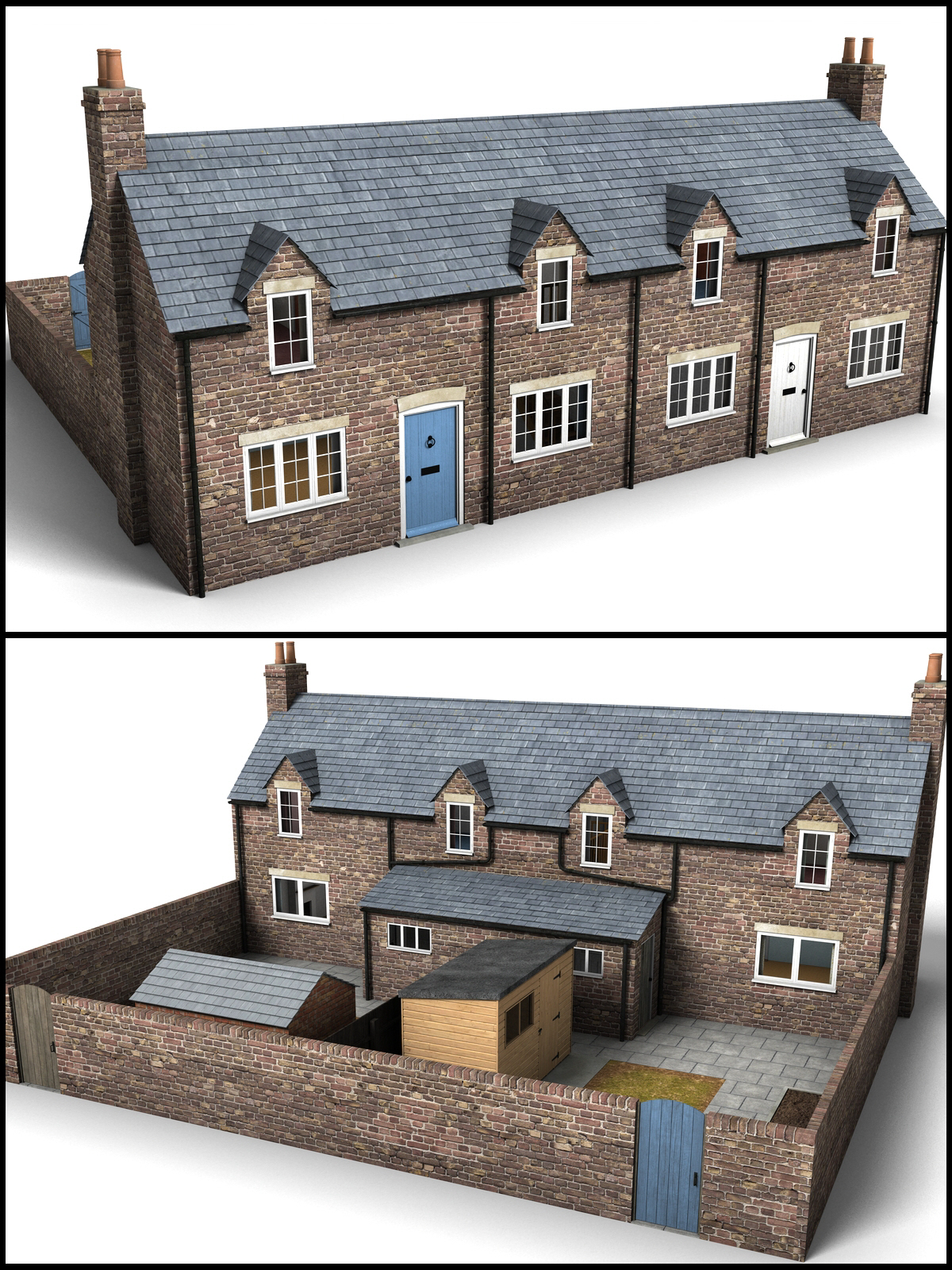 Workers cottages - Extended License by DryJack