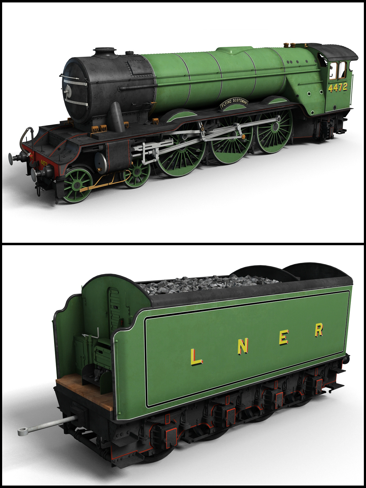The Flying Scotsman - Extended License