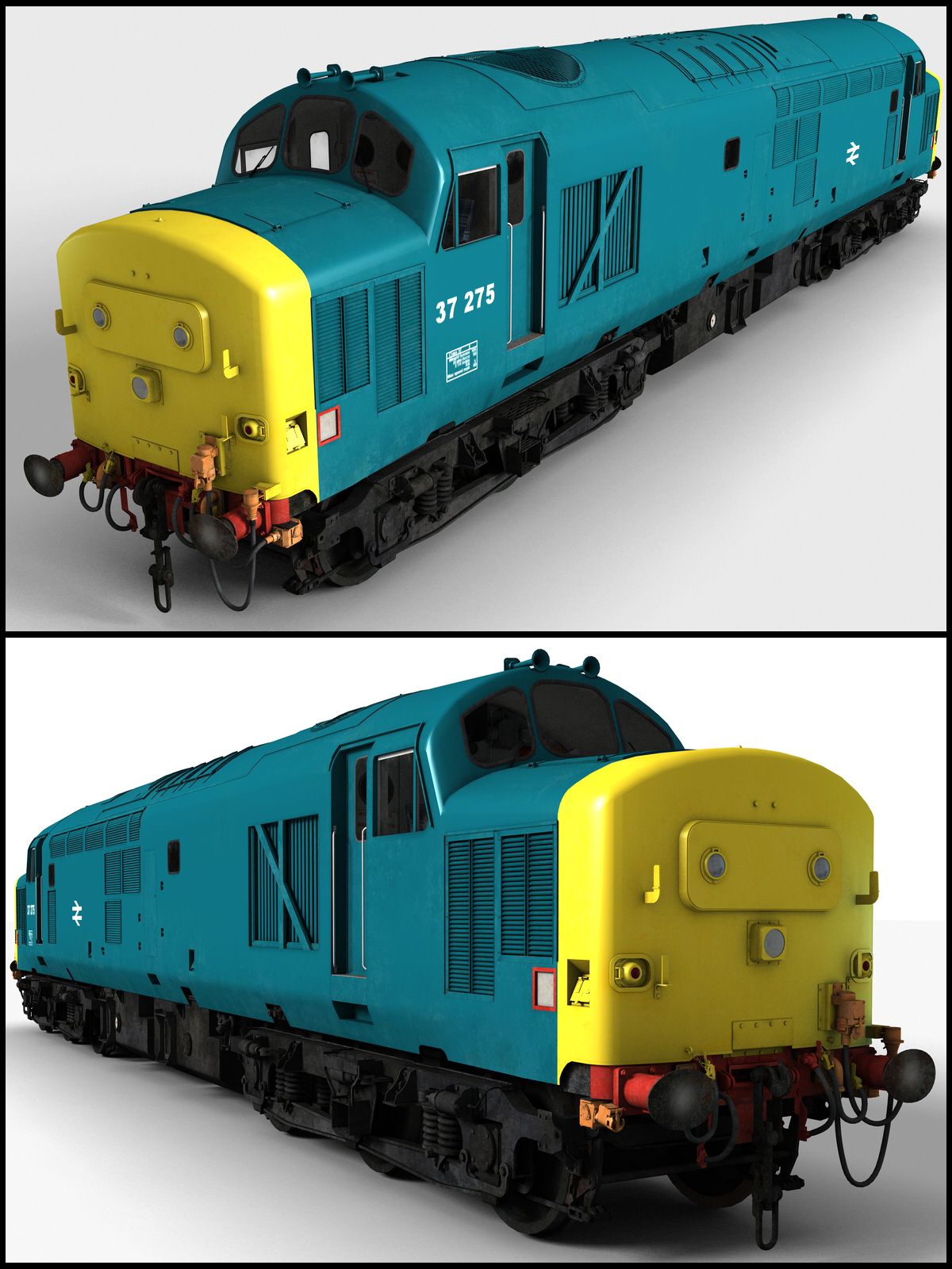Class 37 Diesel Locomotive - Extended License