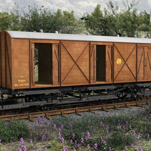 GWR  Bloater Fish Van - Extended License image 1