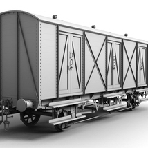 GWR  Bloater Fish Van - Extended License image 2