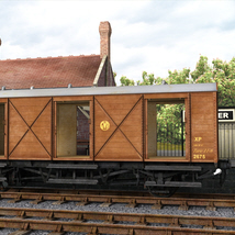GWR  Bloater Fish Van - Extended License image 3