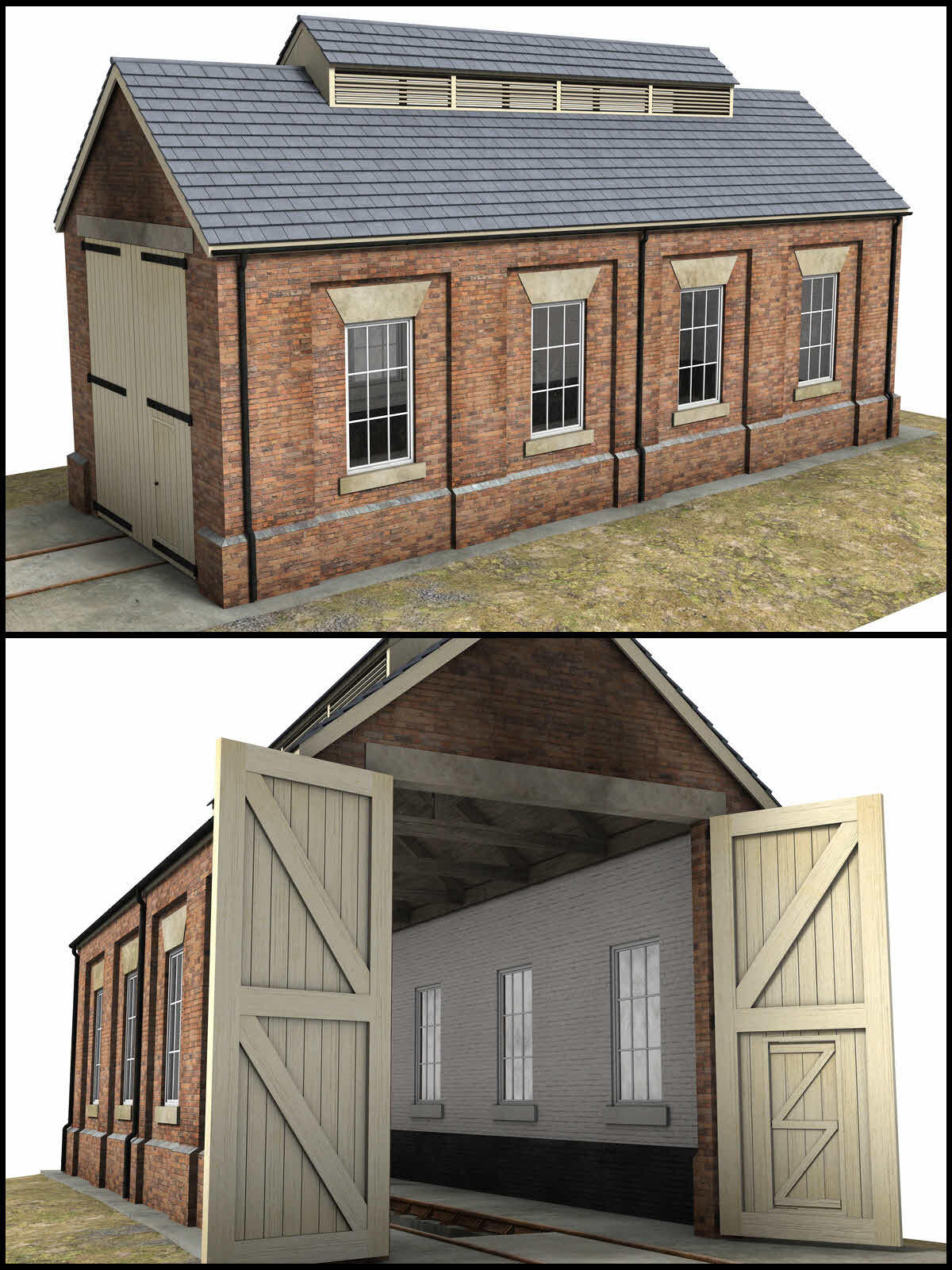 Single Road Engine Shed - Extended License