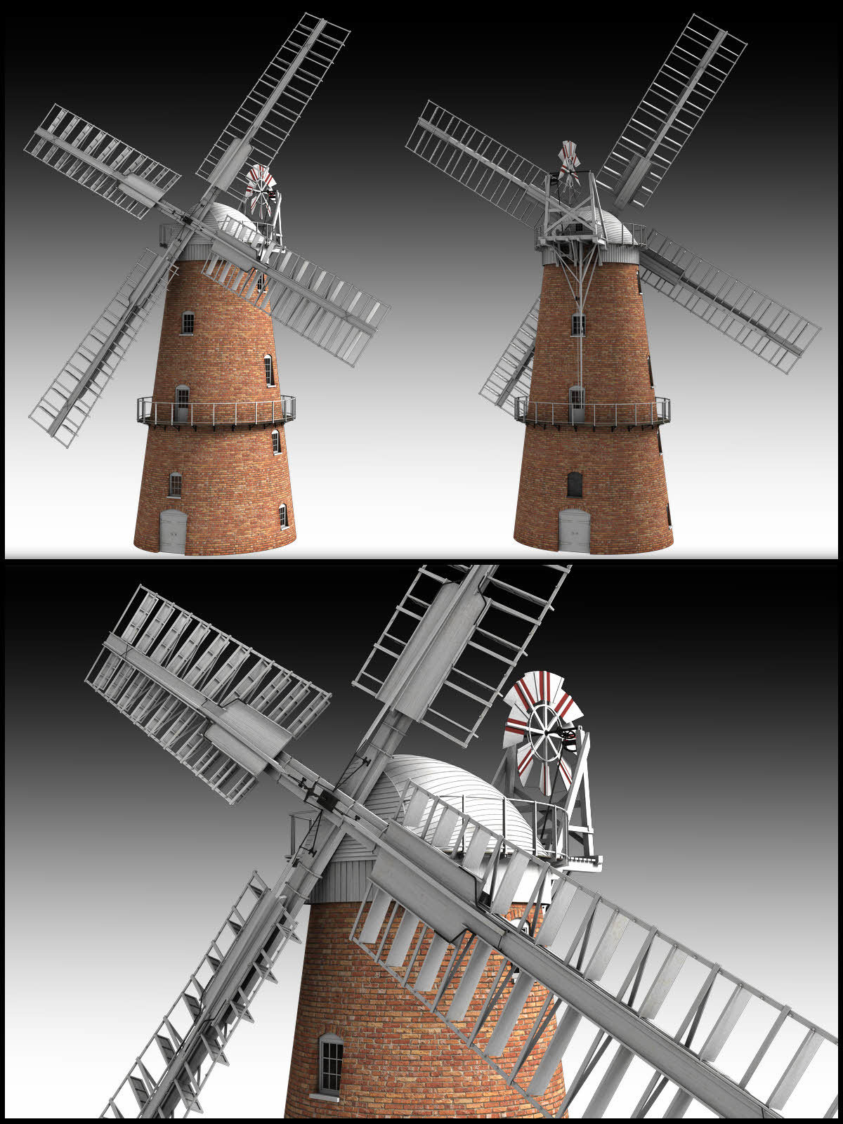 Norfolk Windmill - Extended License