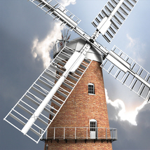Norfolk Windmill - Extended License image 1