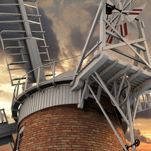 Norfolk Windmill - Extended License image 3