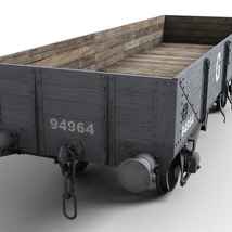 GWR - Open C - Wagon - Extended License image 1