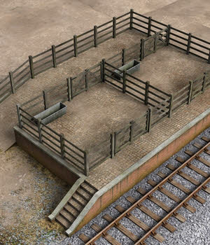Cattle Dock - Extended License 3D Models Extended Licenses DryJack