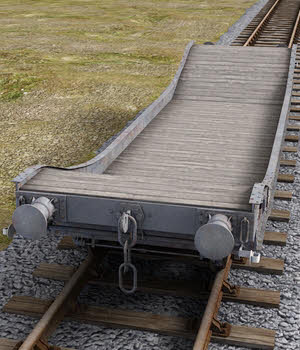 GWR Loriot Well Wagon - Extended License 3D Models Extended Licenses DryJack