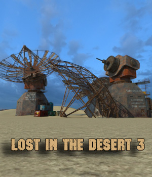 AJ Lost In The Desert 3 3D Models -AppleJack-