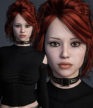 MbM Scarlette for Genesis 3 and 8 Female 3D Figure Assets Heatherlly