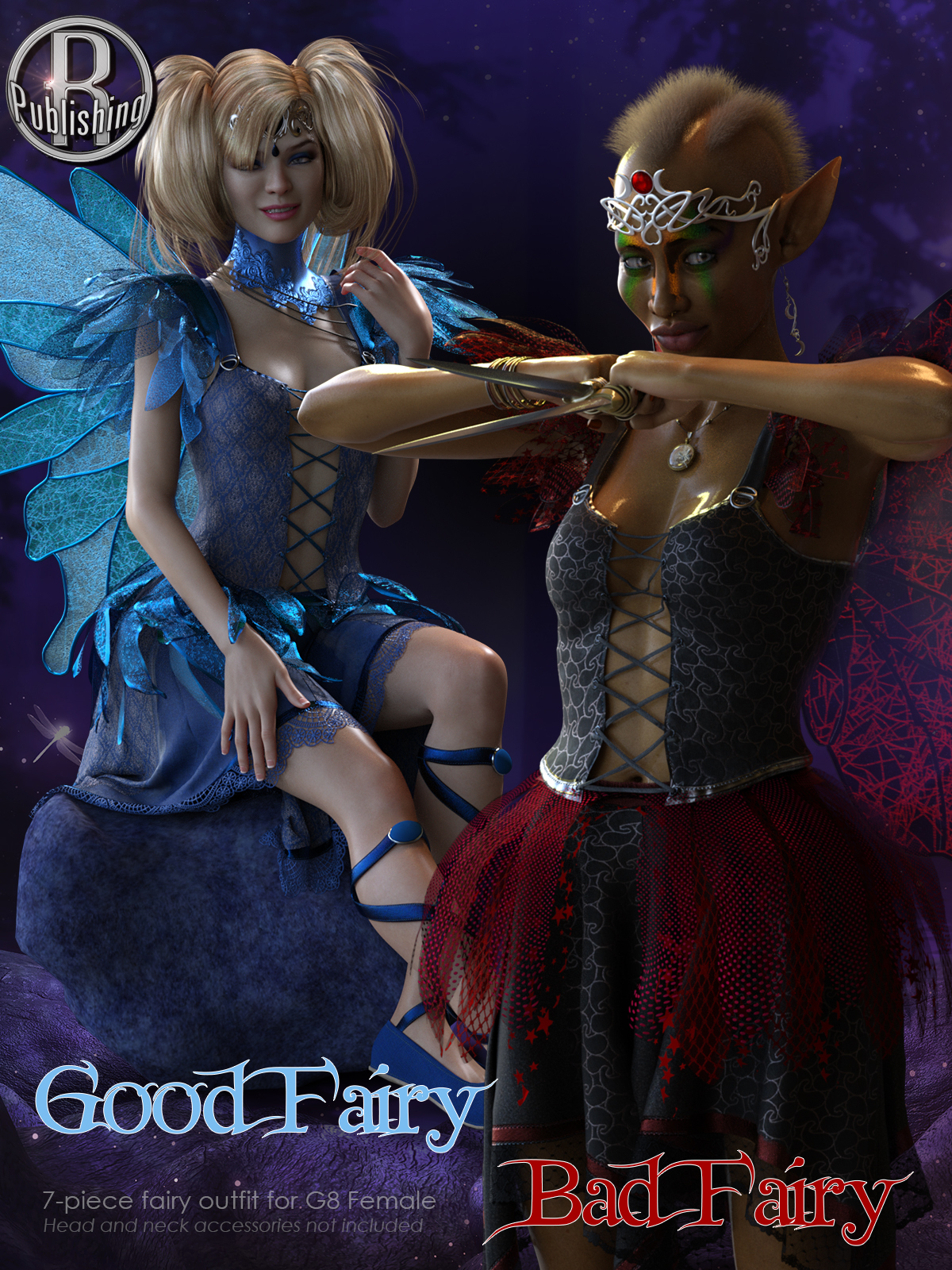 Good Fairy Bad Fairy for G8F by RPublishing