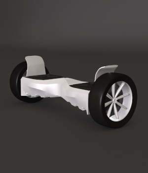 Hoverboard 3D Models gmm2