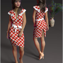 Stylish For dForce Claire Cocktail Dress Outfit image 3