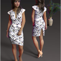 Stylish For dForce Claire Cocktail Dress Outfit image 5