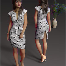 Stylish For dForce Claire Cocktail Dress Outfit image 6