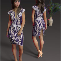 Stylish For dForce Claire Cocktail Dress Outfit image 7