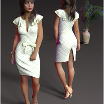 Stylish For dForce Claire Cocktail Dress Outfit image 8