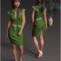 Stylish For dForce Claire Cocktail Dress Outfit image 9