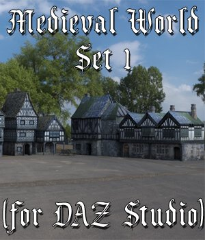 Medieval World Set 1 for DAZ Studio 3D Models VanishingPoint