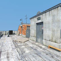 Rooftop Exit set for Daz Studio image 6