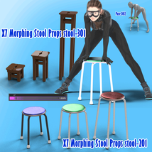X7 Morphing Stool Props and Poses for Genesis 8 Female SET2 image 1