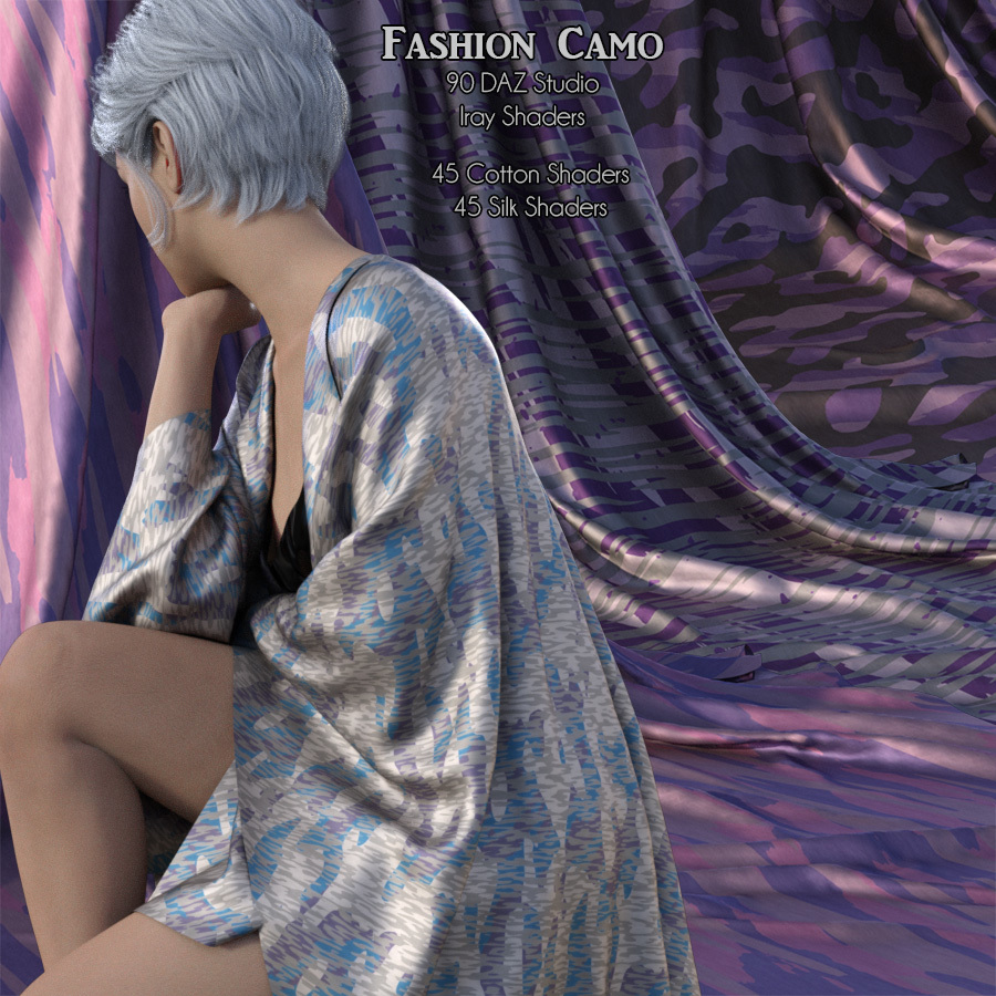 Fashion Camo Iray Shaders