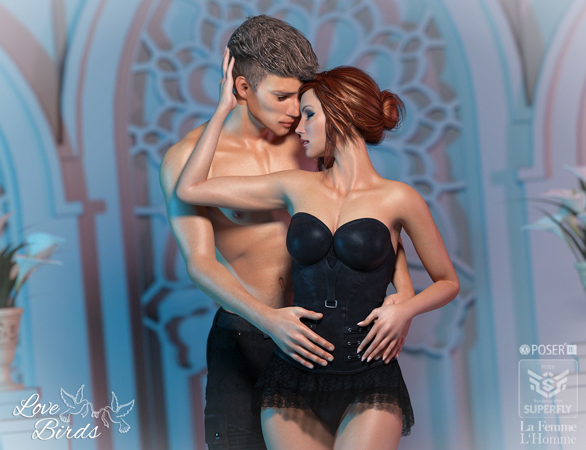 Love Birds for Poser   by RPublishing