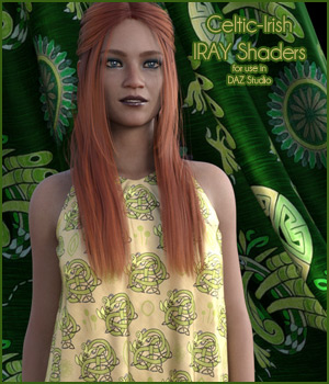 Celtic-Irish Iray Shaders 2D Graphics 3D Figure Assets Merchant Resources antje