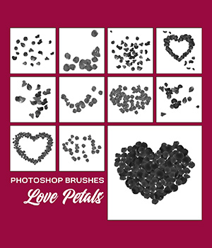 PB - Love Petals 2D Graphics Merchant Resources Atenais