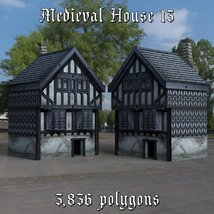 Medieval World Set 3 for DAZ Studio image 1