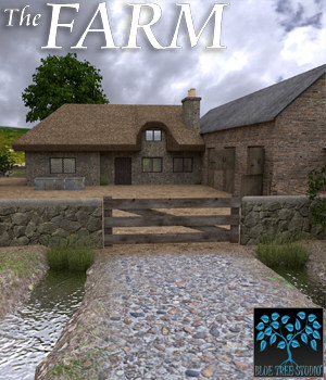 The Farm for Poser 3D Models BlueTreeStudio