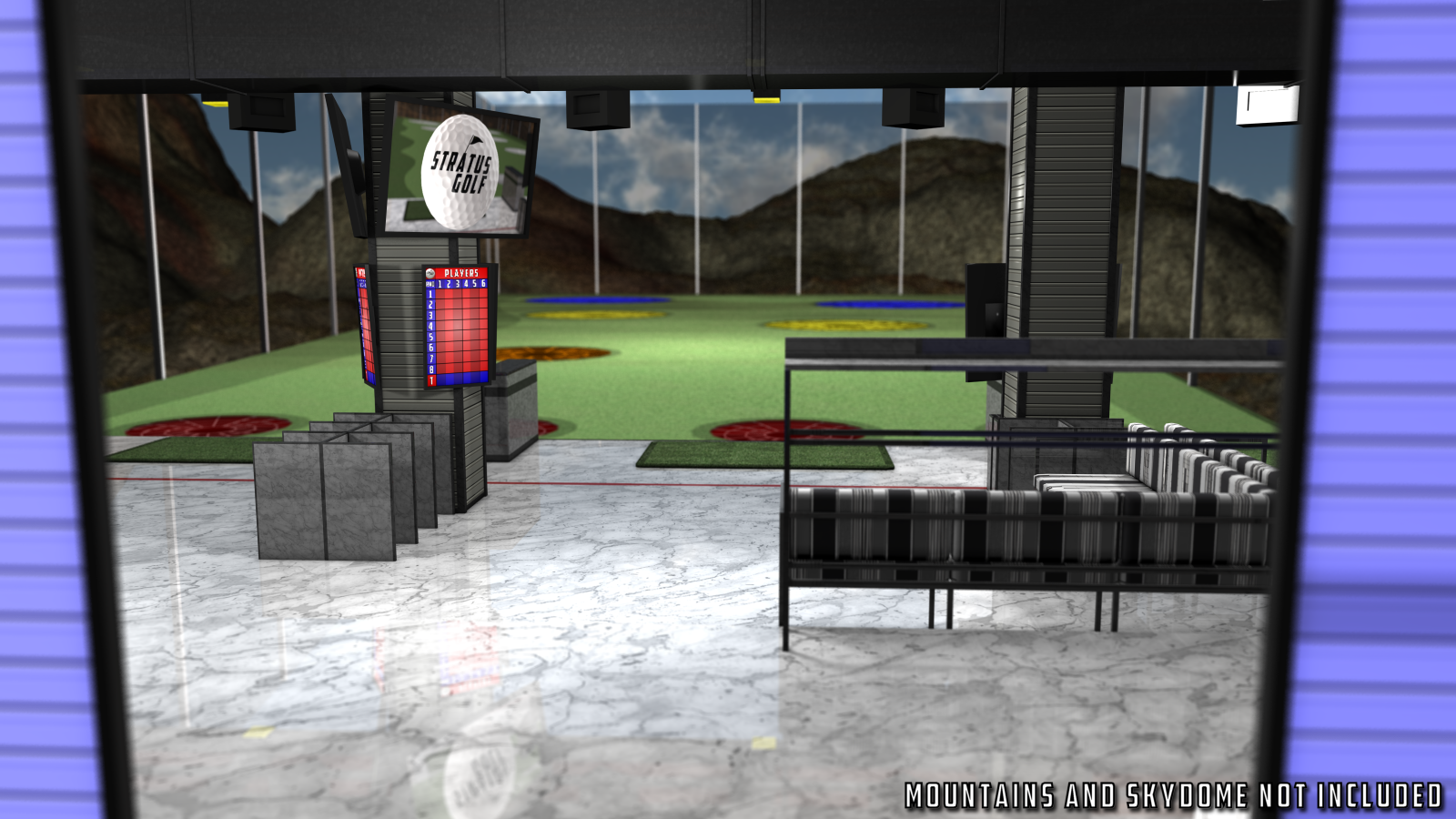 Driving Range for Poser 7+ by DexPac