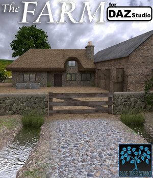 The Farm for Daz Studio 3D Models BlueTreeStudio