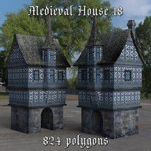 Medieval World Set 4 for DAZ Studio image 1